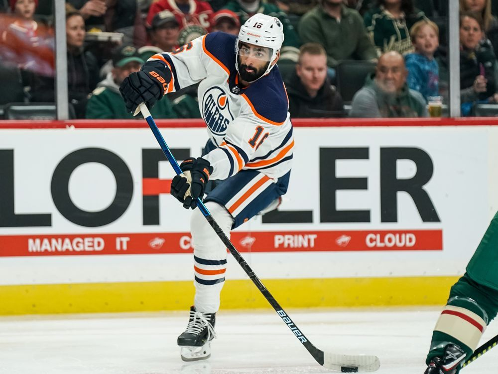 Edmonton Oilers' top three centre positions are set, but there's a big battle developing at 4C
