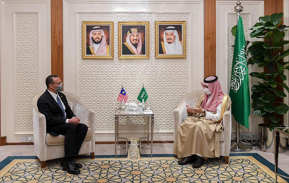 Saudi, Malaysian ministers go over petroleum financial investment chances