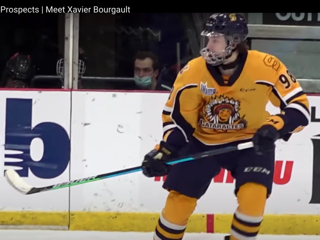 Some eye-opening comparisons for new Edmonton Oilers F Xavier Bourgault: 9 Things